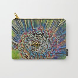 Flower stamp pen drawing  Carry-All Pouch