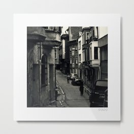 Istanbul Quarters Metal Print