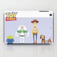 toy story iPad Cases featuring Toy Story by YoongSin