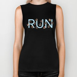 Keep on Running Biker Tank