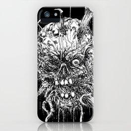 Hellraiser Horror Skull iPhone Case