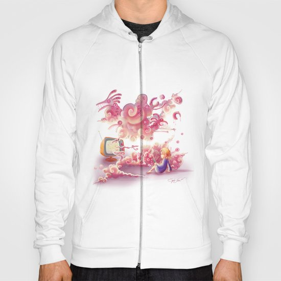 A strange television… Hoody