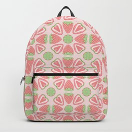 Strawberry Slice Pattern Backpack