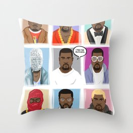 Miss the old Ye Throw Pillow