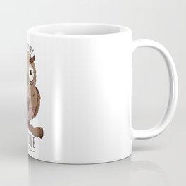 Caffeine Owl Coffee Mug