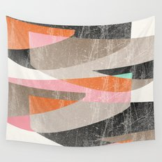 Fragments XIII Wall Tapestry