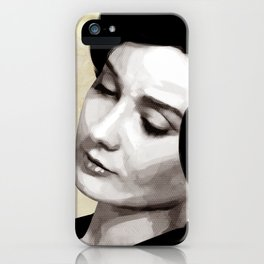 Audrey Hepburn iPhone Case