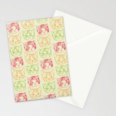 Cat Stack Stationery Cards