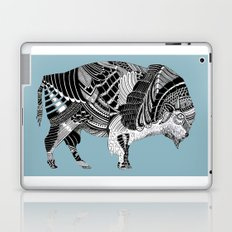 BLUE BISONTE-. Laptop & iPad Skin