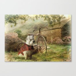 Little Bobby Canvas Print