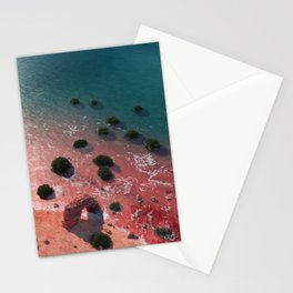 Beach at exoplanet GJ 504 B Stationery Cards