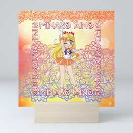 Chibi Super Sailor Venus Mini Art Print
