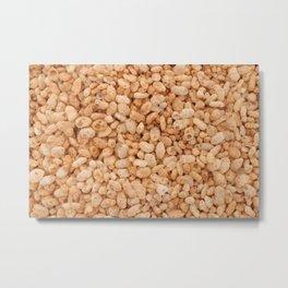 Crisped rice breakfast cereal Metal Print