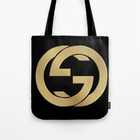 gucci Tote Bags featuring Gucci 2 by Beauti Asylum