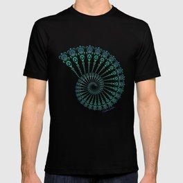 Spiral Tribal Turtle Shell Tropical T-shirt