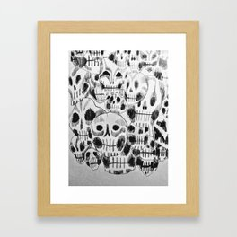 Gang's All Here Framed Art Print