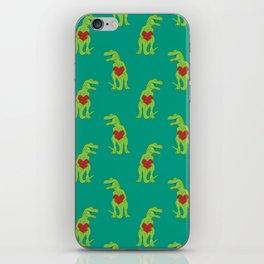 T-rex Love iPhone Skin