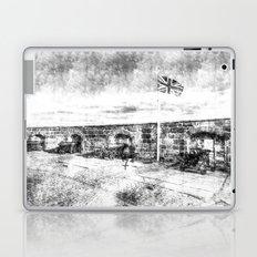 Edinburgh Castle Vintage Laptop & iPad Skin