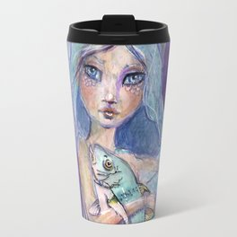 Plenty more Fish in the Sea by Jane Davenport Travel Mug