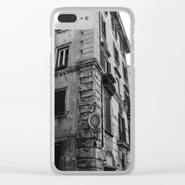Roman Architecture V Clear iPhone Case