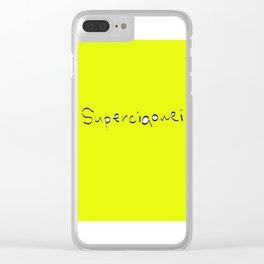 superciaowei Clear iPhone Case