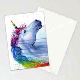 Magical Rainbow Unicorn Stationery Cards