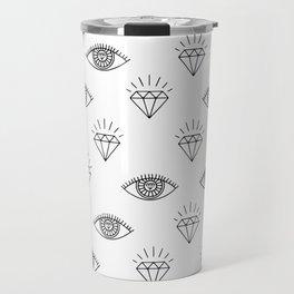 Diamond Eyes #society6 #decor #buyart Travel Mug