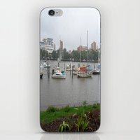 boats iPhone & iPod Skins featuring Boats by Skye Rao