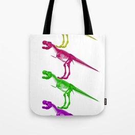 T-Rex Bones Tote Bag