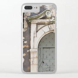 Beautiful Door Clear iPhone Case