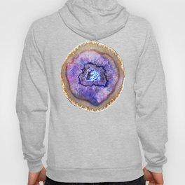 Opal and Gold Agate Hoody