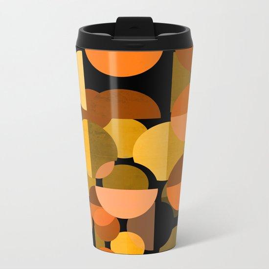 Autumn Woods Metal Travel Mug