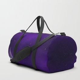Purple Ship Duffle Bag