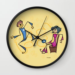 Like or dislike Wall Clock