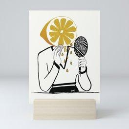 Peeling a new me Mini Art Print