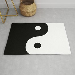 Yin And Yang Sides Rug