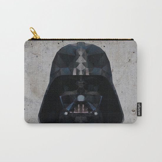 darth vader low poly Carry-All Pouch