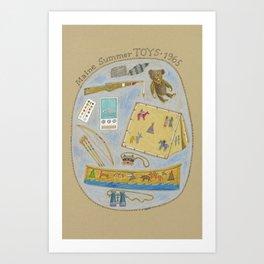 Maine Toys 1965 Art Print