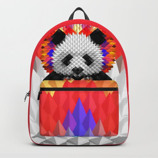 Geo Panda Backpack