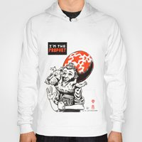 tintin Hoodies featuring I'm the prophet / Tintin and Snowy by remedact
