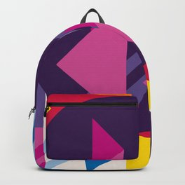 Abstract modern geometric background. Composition 7 Backpack