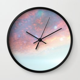 Morning Sky Wall Clock
