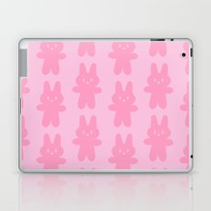 Pink Bunnies Pattern Laptop & iPad Skin