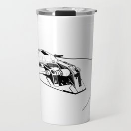 The real dark side - Snow day on Hoth Travel Mug