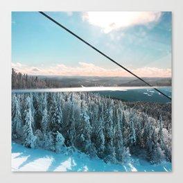 Snowy Horizon #1 Canvas Print