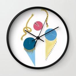 Be Blue Wall Clock