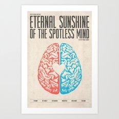 Eternal Sunshine of the Spotless Mind - Alternative Movie Poster Art Print
