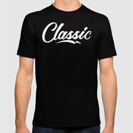 White Classic Logo T-shirt