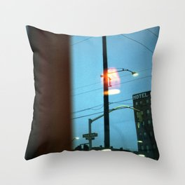 Hotel Carlyle Throw Pillow