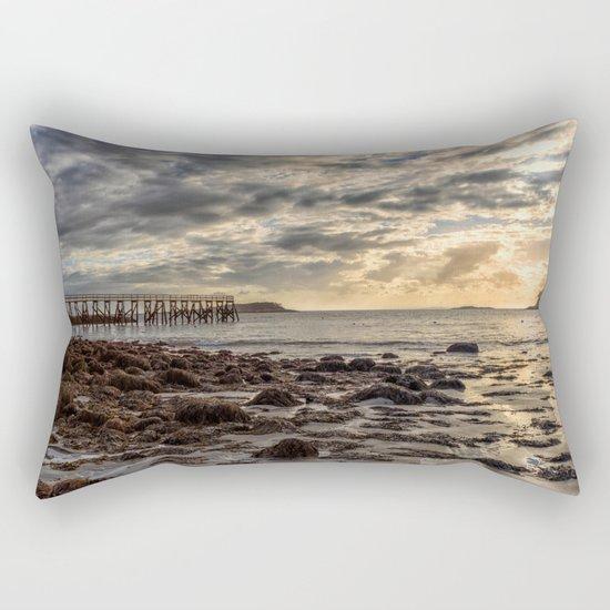Magnolia Pier #2 Rectangular Pillow